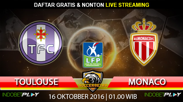Prediksi Toulouse vs Monaco 16 Oktober 2016 (Liga Prancis)