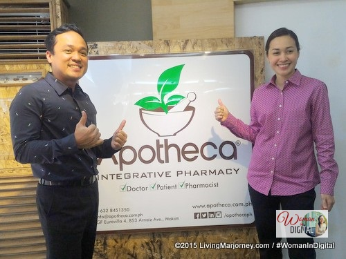 Richard Lista and wife are advocates of Apotheca integrative pharmacy.