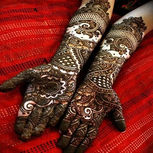 Mehndi Design Dulhan Photos