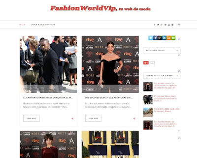 Fashion World Vip, blog de moda