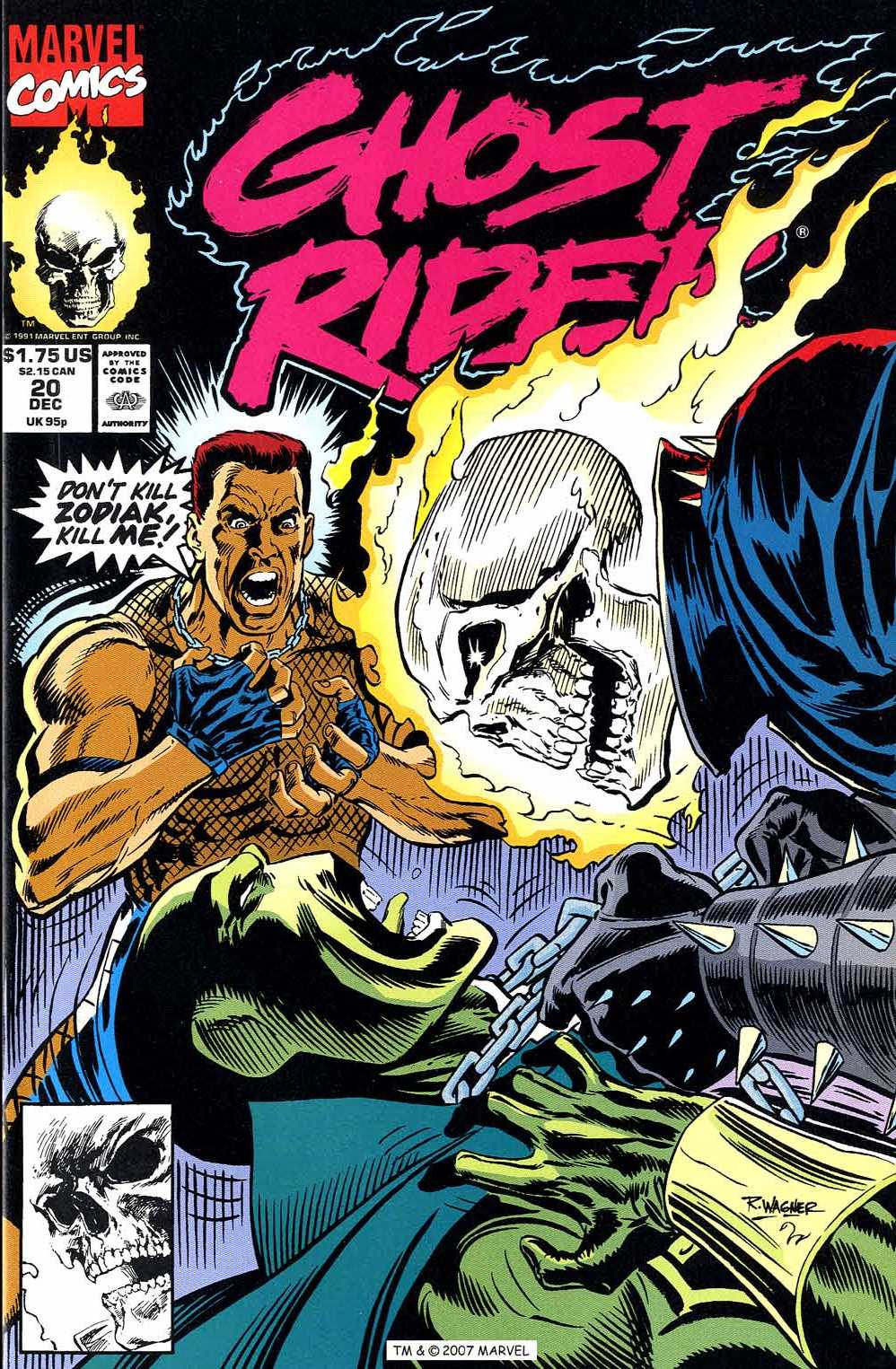 Ghost Rider (1990) 20 Page 1