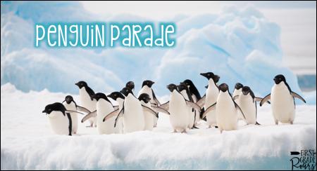 Penguin Parade - First Grade Roars!