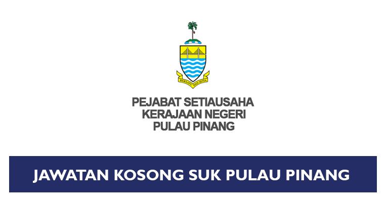 Jawatan Kosong di Pejabat Setiausaha Kerajaan Negeri Pulau Pinang