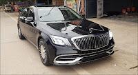Đầu xe lên đời giống Mercedes Maybach S560 4MATIC 2019