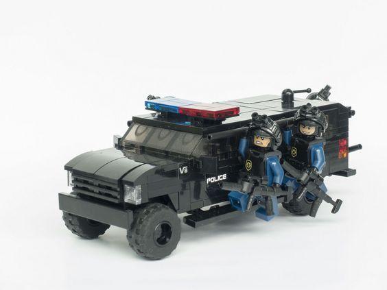 gsg9 187 unité spéciale playmobil personnages police
