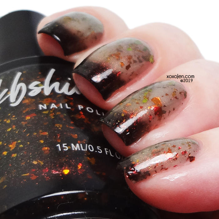 xoxoJen's swatch of kbshimmer All Fired Up