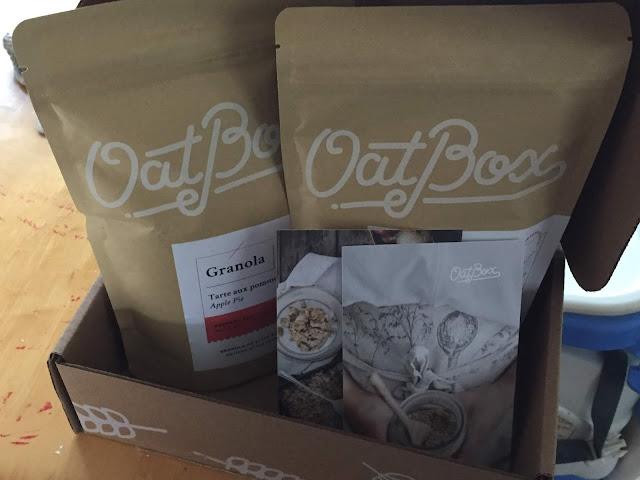 oat box granola saveur tarte aux pommes déjeuner santé