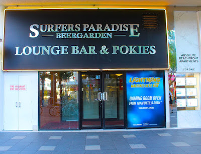 Surfers Paradise Beer Garden lounge bar and Pokies