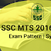 SSC MTS Syllabus & Changed Exam Pattern