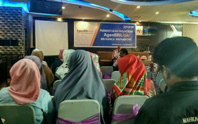 Agen BRILink se-Kabupaten Bone Kumpul di Hotel Novena