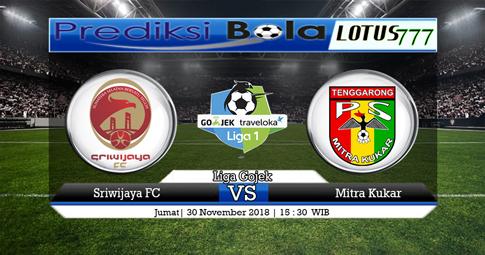 PREDIKSI Sriwijaya FC vs Mitra Kukar 30 NOVEMBER 2018