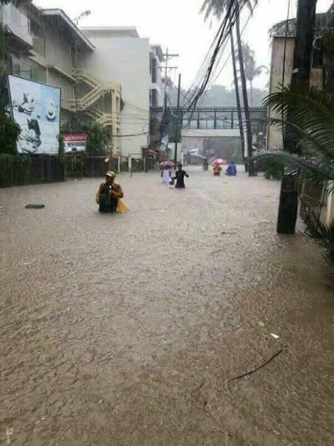 Suuntana Aasia | Boracayn lomasaari tulvii taifuuni Urdujan jäljiltä