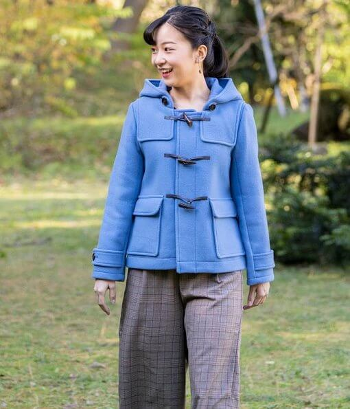 Princess Kako wore BMING by BEAMS coat. Crown Prince Fumihito and Crown Princess Kiko. Emperor Akihito and Empress Michiko