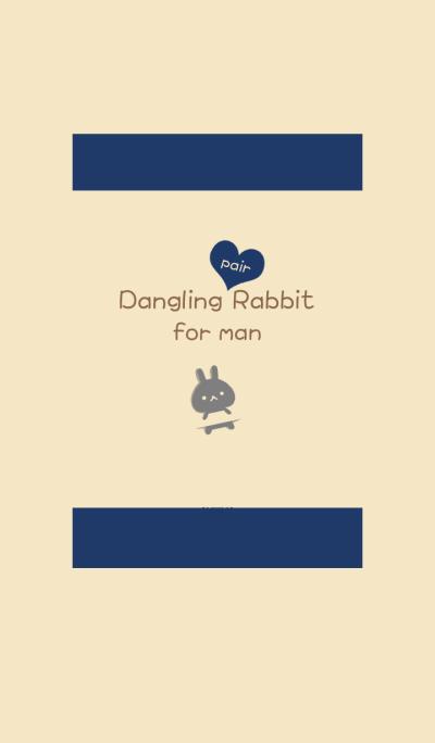 Dangling pair rabbit (man)