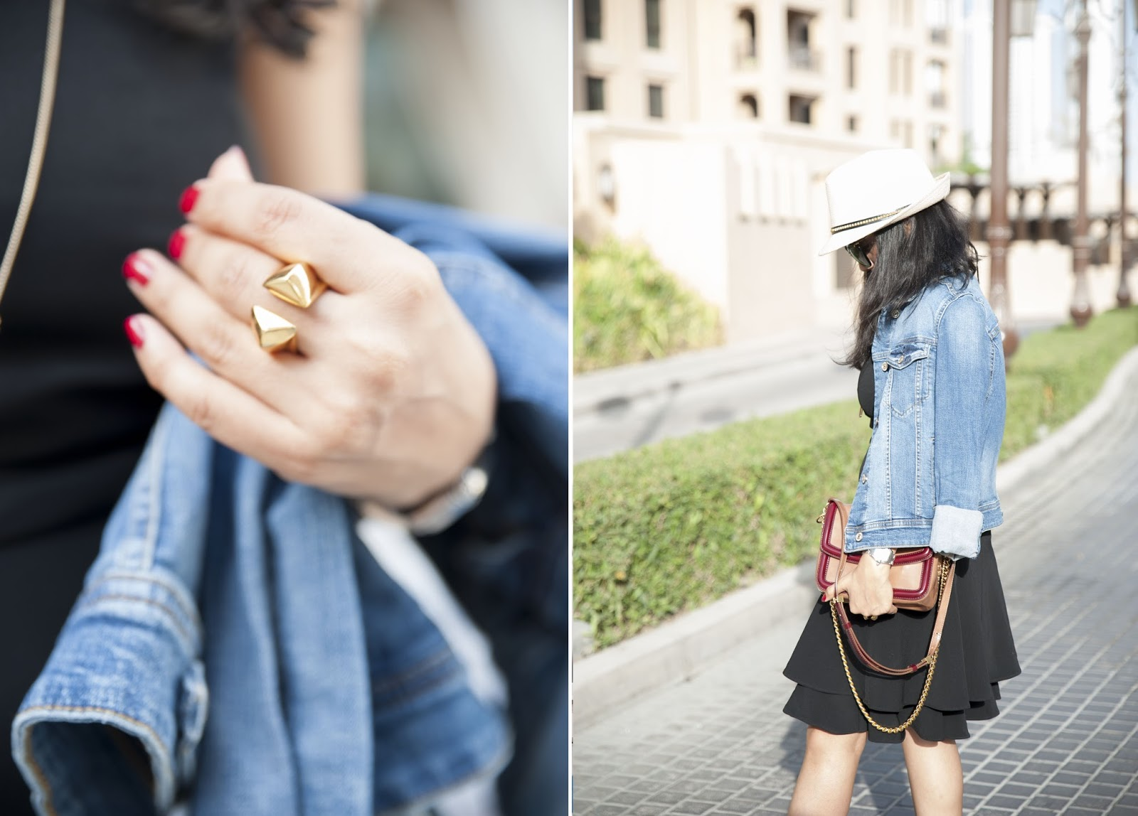 How to style a denim jacket - vegan fashion