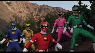 Saban Turbo A Power Rangers Movie Suits