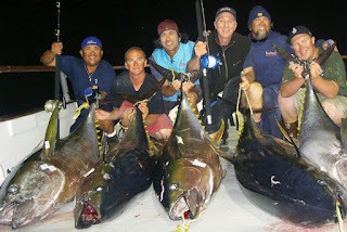 nightime fishing