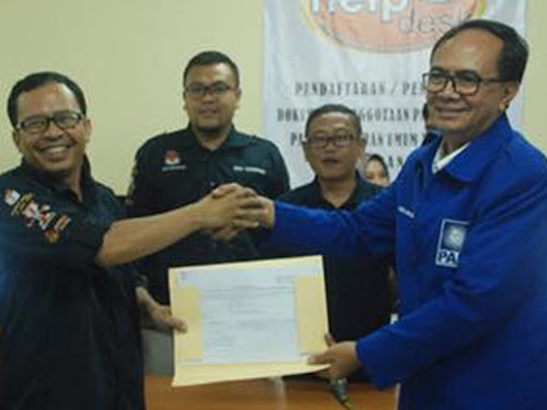 Penyerahan dokumen parpol ke KPU Kota Bandung