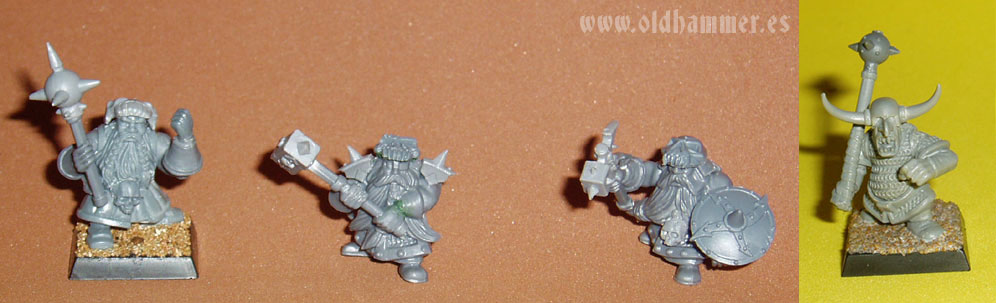 Chaos Dwarfs warband Mordheim conversion banda Enanos del Caos