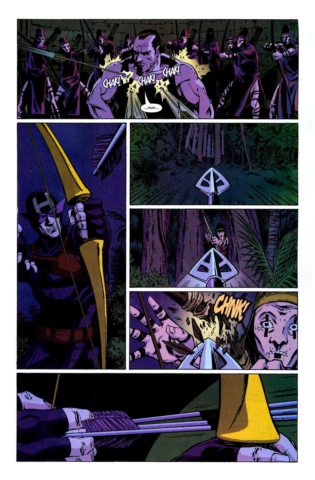 Hawkeye (2003) Issue #6 #6 - English 12