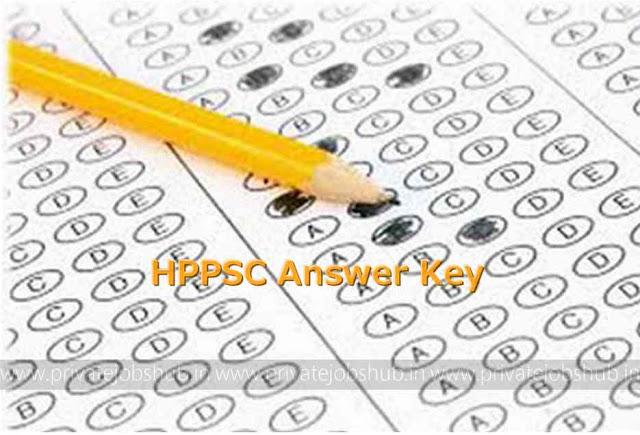 HPPSC Answer Key