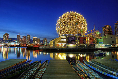 world places: Vancouver Science World