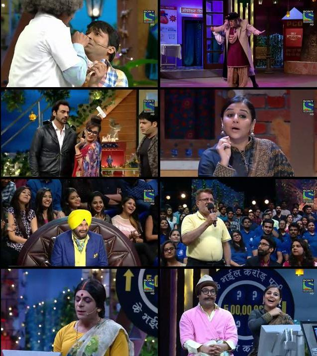 The Kapil Sharma Show 12 Nov 2016 Free Download HDTV 480p 250MB