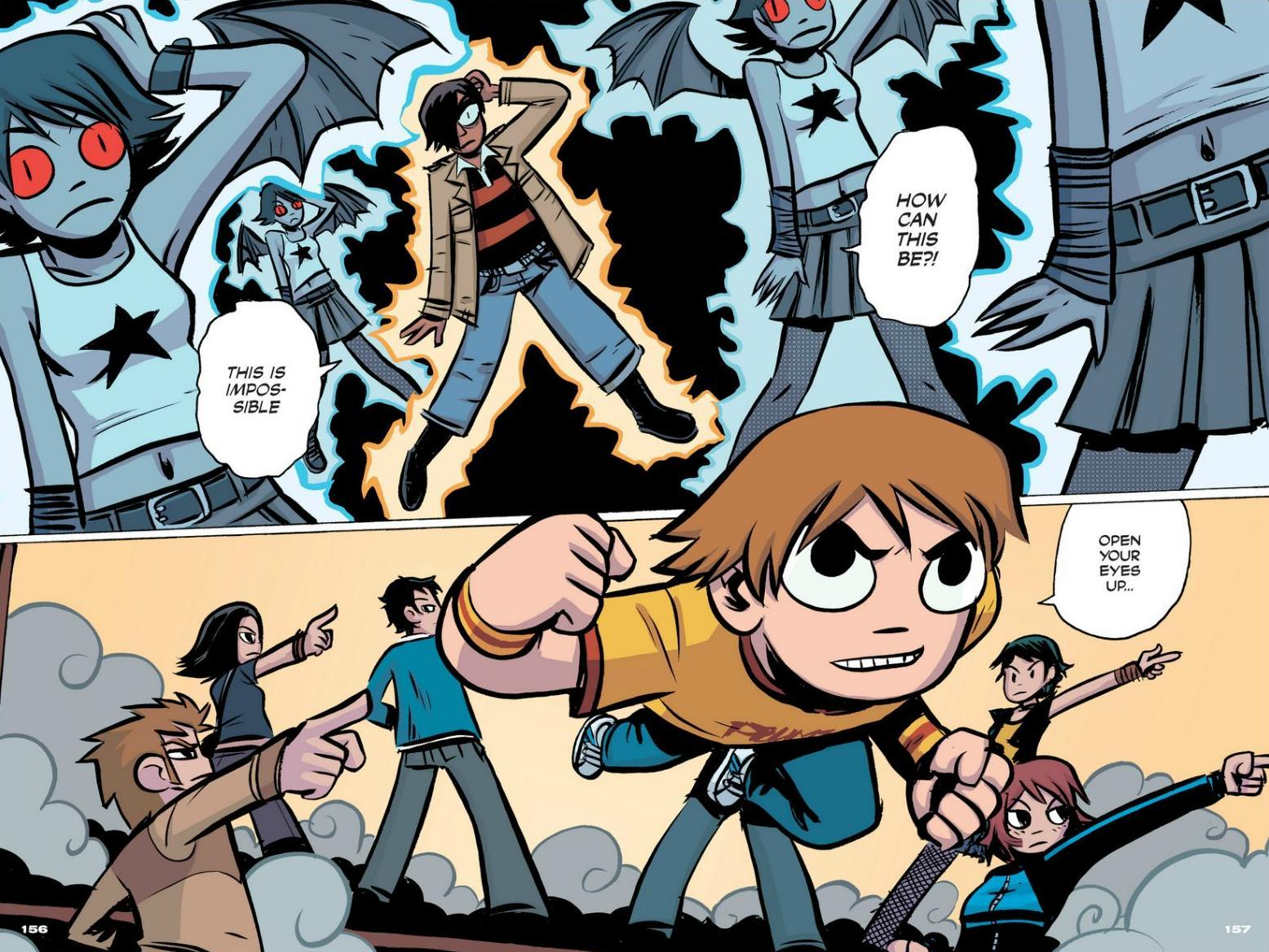 Read online Scott Pilgrim comic -  Issue #1 - 140