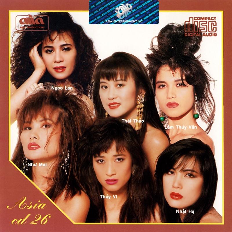 AsiaCD026 - Dạ Vũ (NRG) + bìa scan mới
