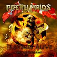 Pretty Maids It Comes Alive - Maid in Switzerland CD / DVD