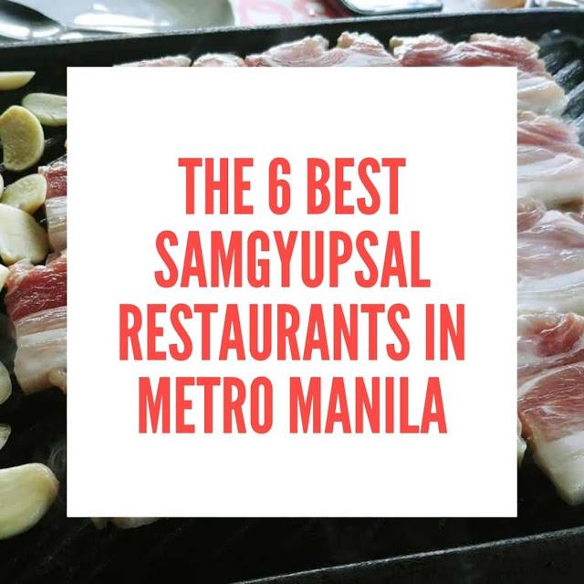 The best samgyupsal restaurants in Metro Manila