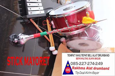 alat musik drumband  alat drumband lengkap dengan kelengkapannya drum tongkat mayoret pemukul drum dari rakhma konveksi