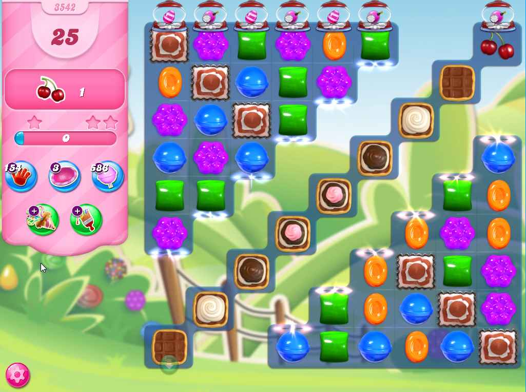 Candy Crush Saga level 3342