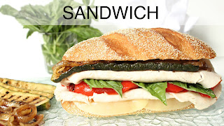 Image of turkey sandwich, a recipe index link to Sandwich page.