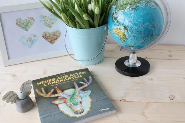 Buchtipps fuer Papier lover Landkarten Paperkram alles Papier Haupt Verlag Jules kleines Freudenhaus