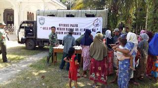 Kodim Abdya Gelar Operasi Pasar Gula Pasir Murah
