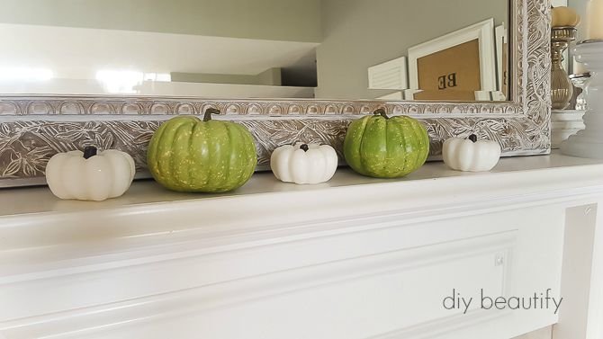Simple fall decorating during a busy season of life | diy beautify