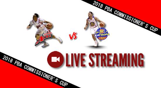 Livestream List: Alaska vs TNT May 13, 2018 PBA Commissioner's Cup