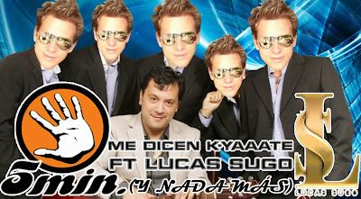 Lucas Sugo humor parodia 5 minutos