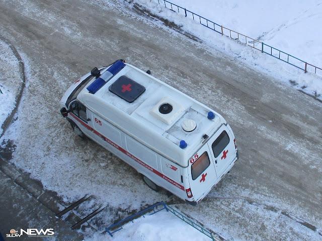 В Уфе мужчина погиб, выпрыгнув из машины скорой помощи