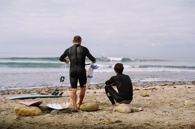 Lowers with Tom Carroll and Hector Santamaria
