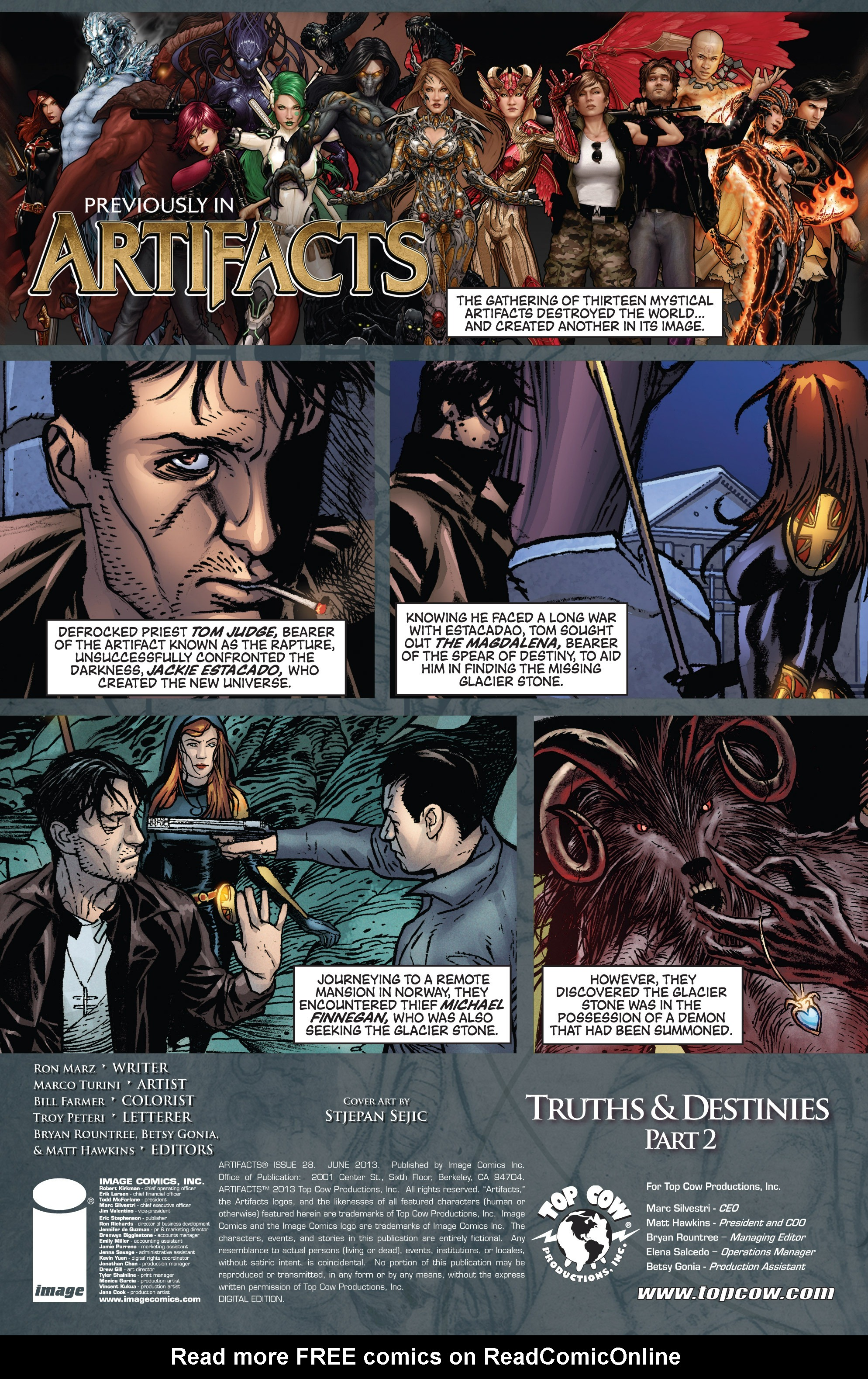 Read online Artifacts comic -  Issue #28 - 2