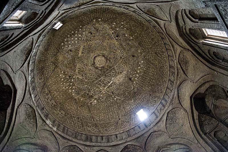 Мечеть Джами или Пятничная мечеть в Исфахане, Иран. Фото в блоге itdalee.ru