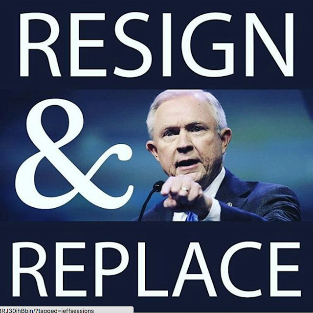 Jeff Sessions Russia Resign and Replace