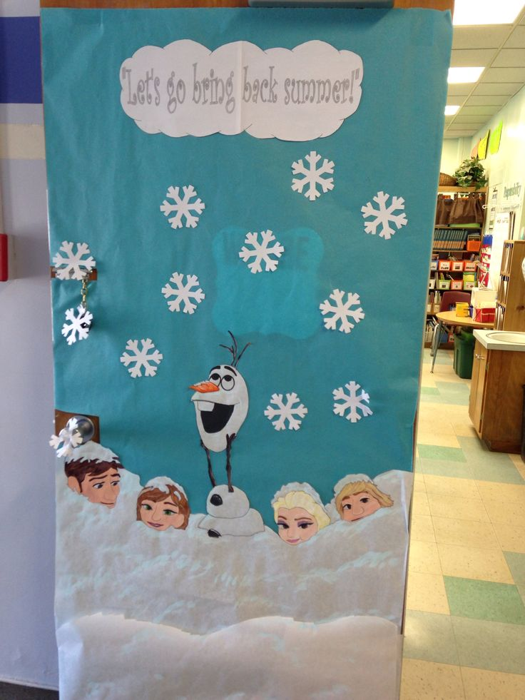Frozen Bulletin Board - The Learning Curve