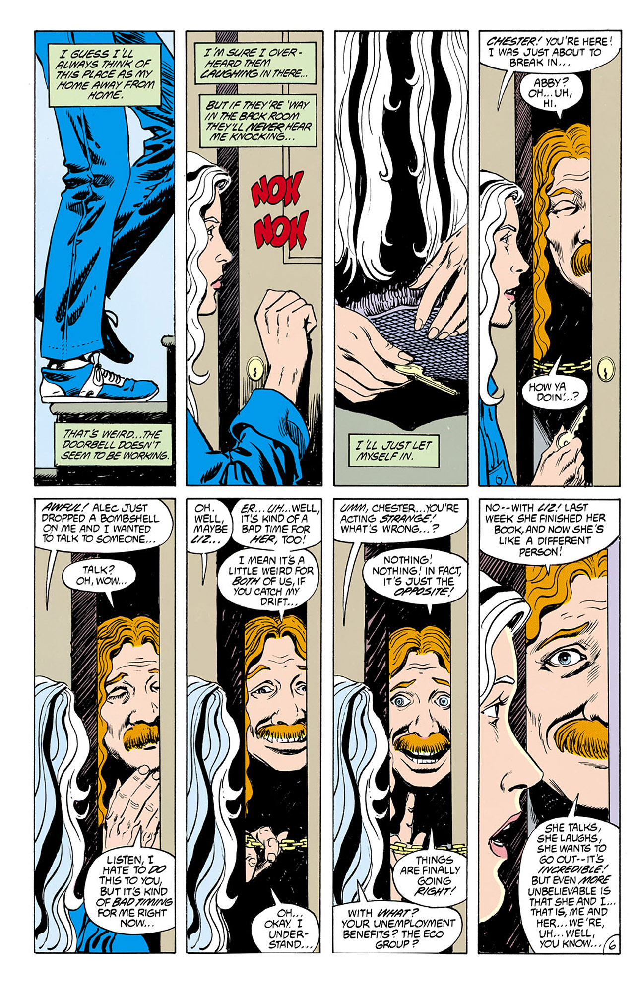 Swamp Thing (1982) Issue #76 #84 - English 6