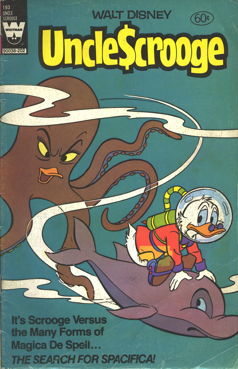 Read online Uncle Scrooge (1953) comic -  Issue #193 - 1