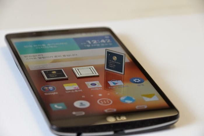 إل جي تكشف عن هاتفها الجديد LG G3 Screen