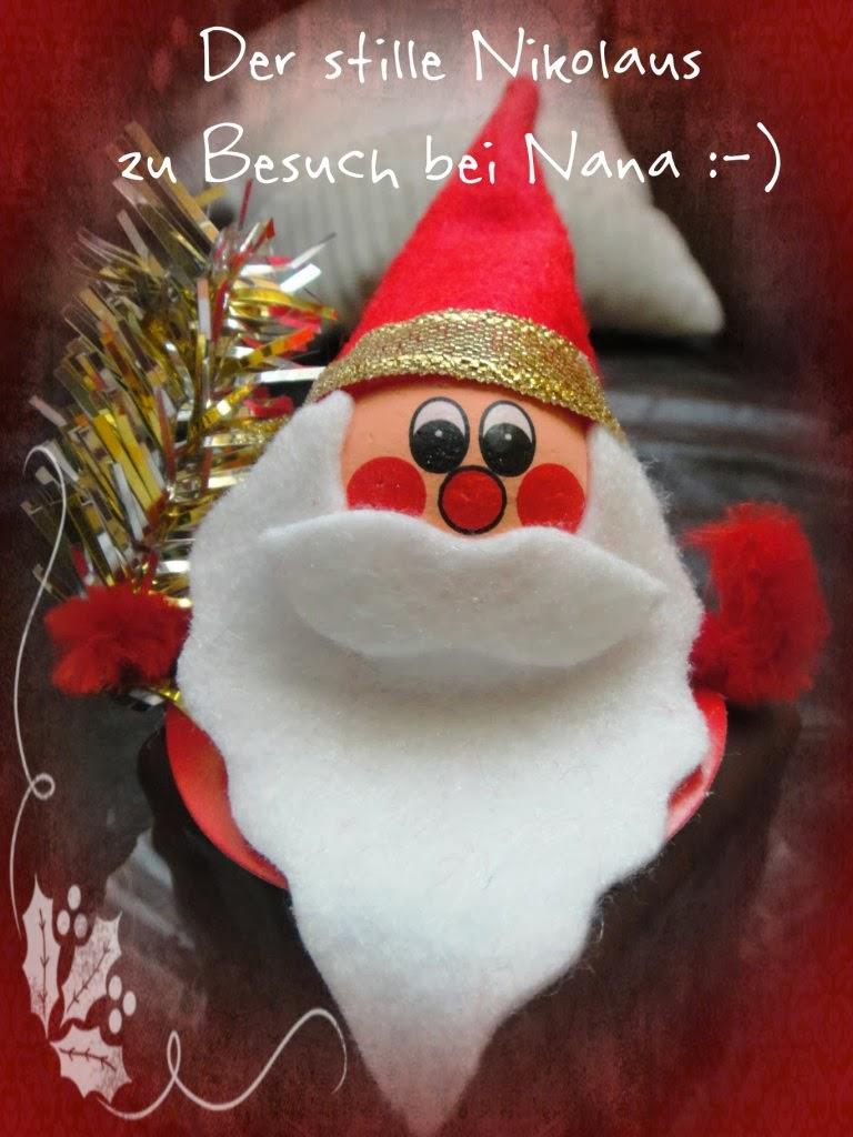Der Stille Nikolaus zu Besuch bei Nana