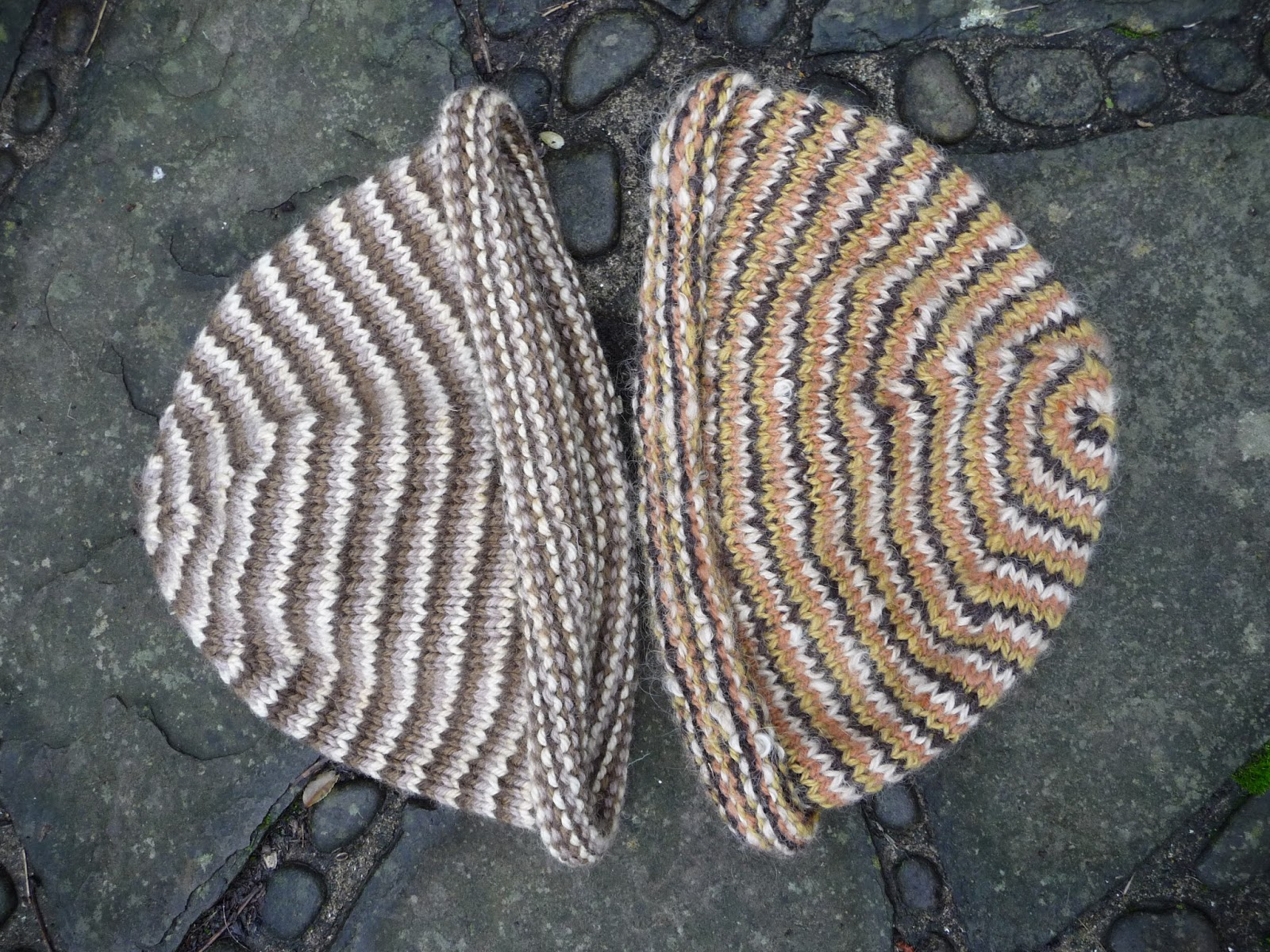Wool - Tribulations of Hand Spinning and Herbal Dyeing: The Humdrum Helix Hat...